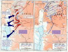 1973 Yom Kippur War - Golan heights theater