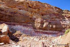 Quarries sandstone, basalt and tuff - Mount Kabir 01