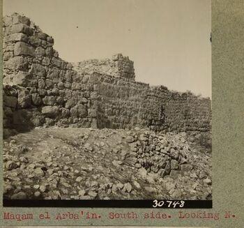 תמונות רשות העתיקות 1920 מתל רומידה כנראה קבר רות וישי