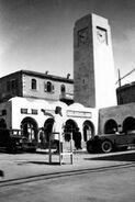 The clock tower in Allenby Square, Jerusalem (id.15596856)