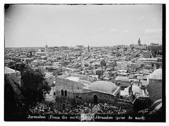 Jerusalem from north