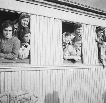 פליטי טהרן, בתחנת הרכבת בלוד-ZKlugerPhotos-00132l8-090717068512ad45