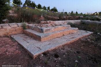 בית קברות של חיילים אנגליים ממוצא הודי ממלחמת העולם הראשונה בבית אל11
