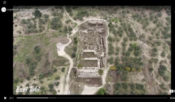 פסגת ההר ארמון אמלכי ישרל - המקדש - עם המדרגות - לאוגוסטוס הרומאי