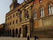 Bologna - Palazzo d'Accursio - Foto Giovanni Dall'Orto 5-3-2005 2