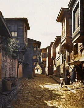 A Street in Istanbul, 1910s