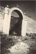 שער המנזר הרוסי היסטוריה