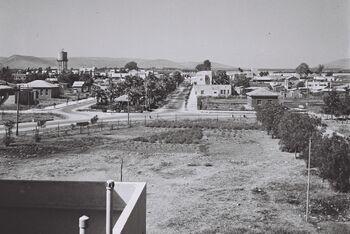 VIEW OF AFULA. העיר עפולה.D839-041