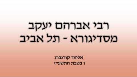 רבי אברהם יעקב מסדיגורא,