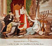 Napoleon stellt den israelitsichen Kult wieder her, 30 Mai 1806.jpg