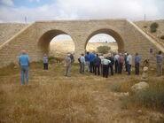 Railway bridge along the First World War from Beersheba to the Sinai desert at Azuz near Nizana 05