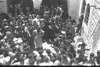 THE LAG BA'OMER HOLIDAY, CELEBRATED AT THE TOMB OF RABBI SHIMON BAR YOHAI, ON MT. MERON IN THE UPPER GALILEE חגיגות ל ג בעומר ליד קברו של רבי שמעון