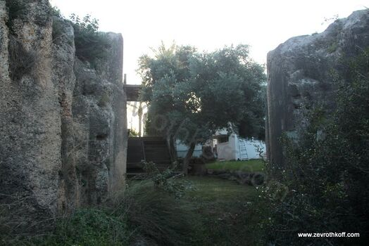 מפתח נוסף ברכס הכורכר- בב אל הווא שער הרוחות