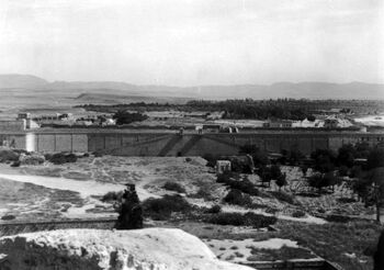 A view of Acre and the coast. c 1918. B02199