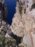 Alghero Grotta di Nettuno Stairways