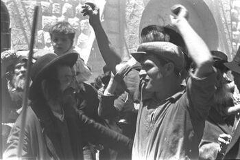 THE LAG BA'OMER CELEBRATIONS AT THE TOMB OF RABBI SHIMON BAR YOHAI ON MOUNT MERON IN THE UPPER GALILEE. חגיגות ל ג בעומר בקברו של רבי שמעון בר יוחאי