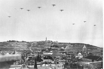 מראה העיר העתיקה בירושלים-JNF001133