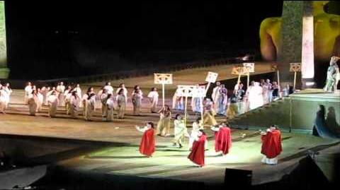 ISRAEL_MUSIC_HISTORY_Verdi_Aida_at_Masada_Israel_Rehearsal_31_5_11_Glimpse_马萨达《阿伊达》
