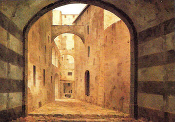 View of Ancient Florence by Fabio Borbottoni 1820-1902 (40)