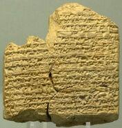 Cuneiform tablet BM62788
