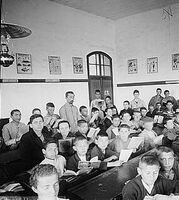 Mikveh Israel class room