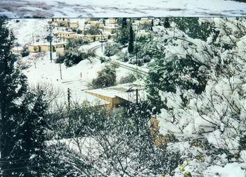 שלג בקדומים 3