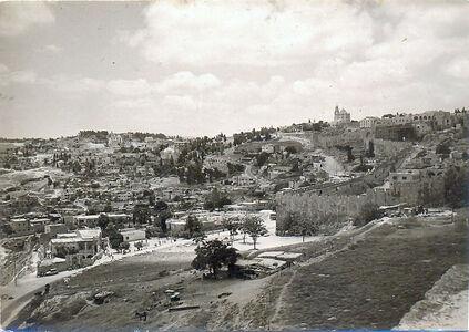 Temple Mount 1967 south-east corner