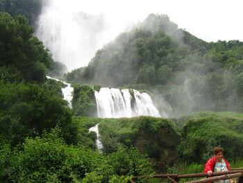 La cascada dell marmora 2009 d