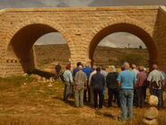 Railway bridge along the First World War from Beersheba to the Sinai desert at Azuz near Nizana 01