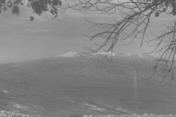 VIEW OF THE NORTHERN HULA VALLEY WITH MOUNT HERMON IN THE BACKGROUND. נוף של עמק החולה. ברקע, הר חרמון.D20-047