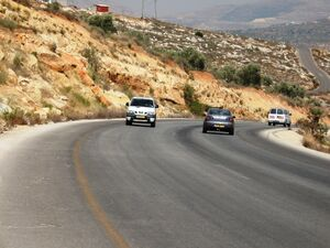 Marl Bet Meir formation road 593 from Ariel city in Shomron to road 60 2th KM C