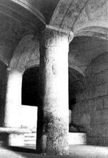 Picture of double passage and stairs -circa 1906