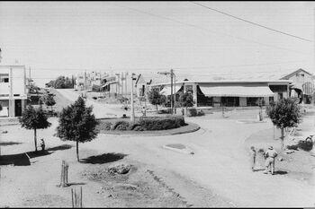 A GENERAL VIEW OF THE CENTER OF KFAR SABA, IN THE 30'S. מראה כללי של מרכז היישוב כפר סבא, בשנות ה 30.D604-066