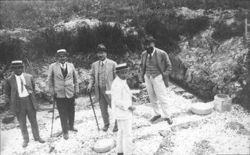Men of Palestine Jewish Colonization Association in the Kabara Swamps