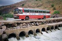 PikiWiki Israel 4237 Egged bus in Jordan river