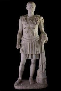 Druso Minore, figlio dell'imperatore Tiberio che regnò tra il 14 e il 37 d.C.