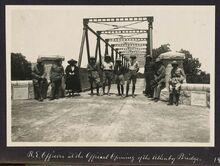 Opening of the Allenby Bridge (1918)