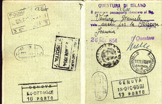 Pictures from the pasport 1954A