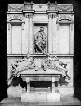 Life of Michael Angelo, 1912 - Monument of Lorenzo de Medici