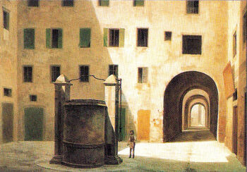 View of Ancient Florence by Fabio Borbottoni 1820-1902 (29)
