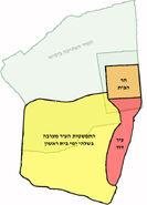 עיר דוד ביחס לעיר העתיקה