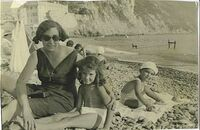 Mamma Miriam e Saul a Bogliasco(Ge) 1932