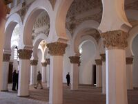 Nave & columns, Toledo synagogue, Spain, ZM (42)