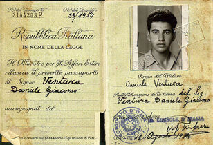 Pictures from the pasport 1954