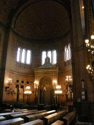 Sinagoga di firenze, interno 02
