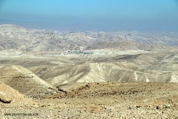 מחנה נבי מוסא ומצפה יריחו