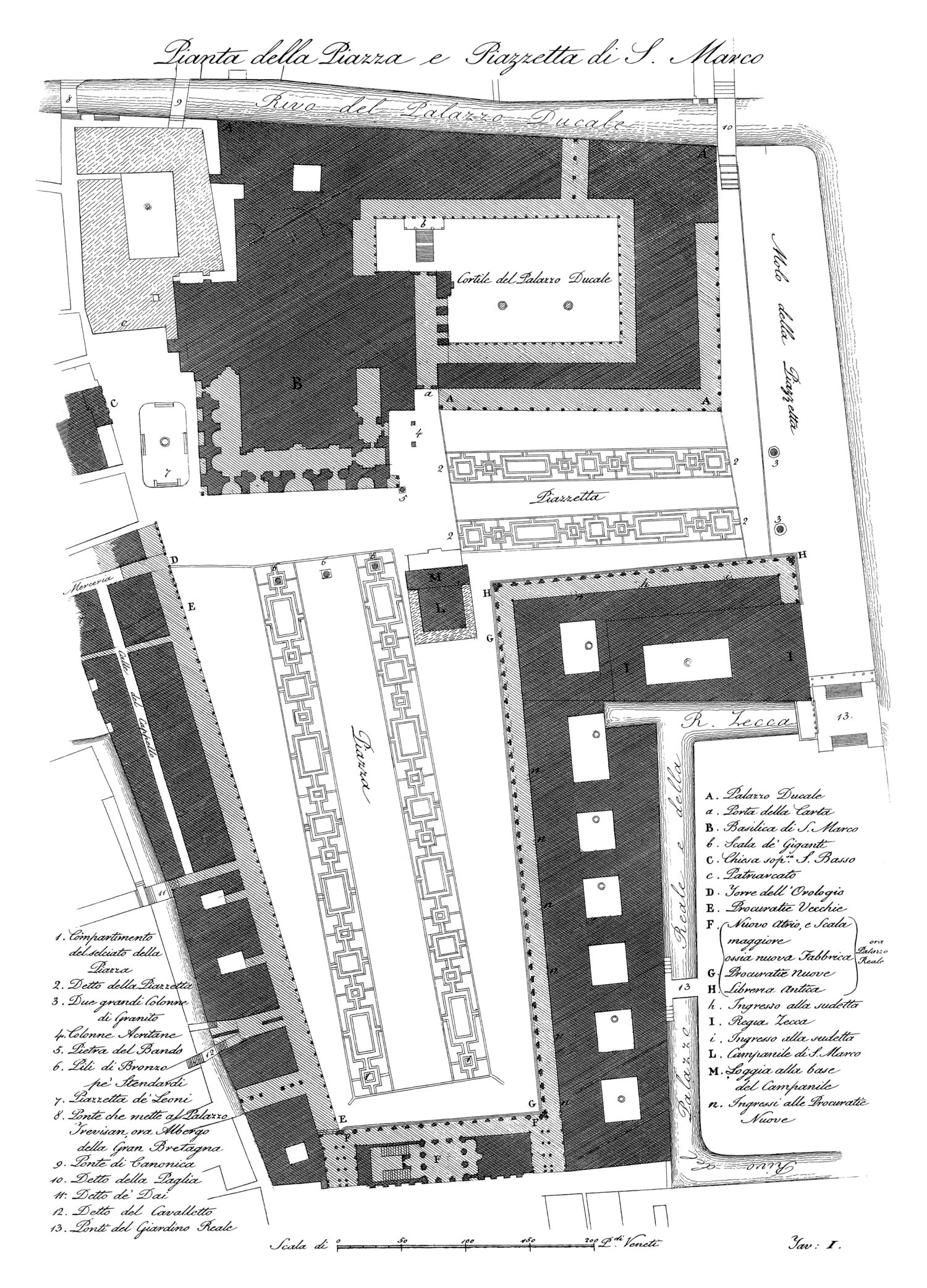 Quadri-Moretti, Piazza San Marco (1831), 01.jpg