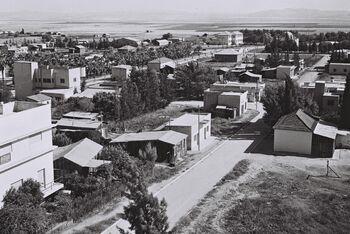 VIEW OF AFULA. העיר עפולה.D839-043