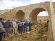 Railway bridge along the First World War from Beersheba to the Sinai desert at Azuz near Nizana 02