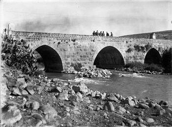 גשר בנות יעקב - גשר בנות יעקב על הירדן.-JNF044237 נוצר 1 בינואר 1934